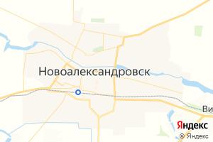 Карта г. Новоалександровск Ставропольский край