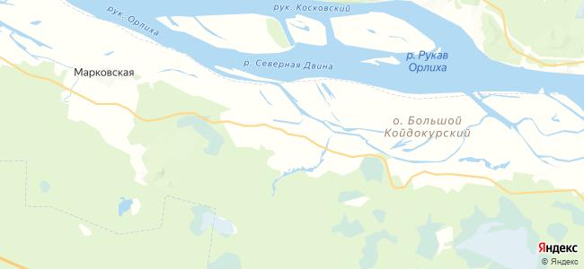 Пустошка на карте