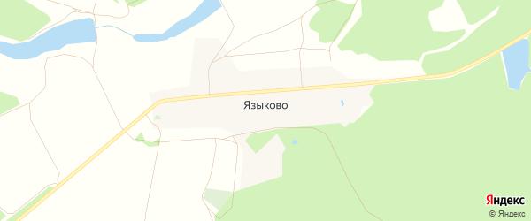 Карта села Языково в Владимирской области с улицами и номерами домов