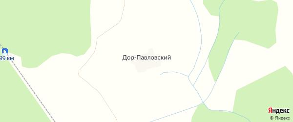 Карта деревни Дора-Павловского в Костромской области с улицами и номерами домов
