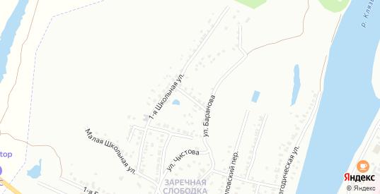 Школьная 2-я улица в Коврове с номерами домов на карте. Спутник и схема онлайн