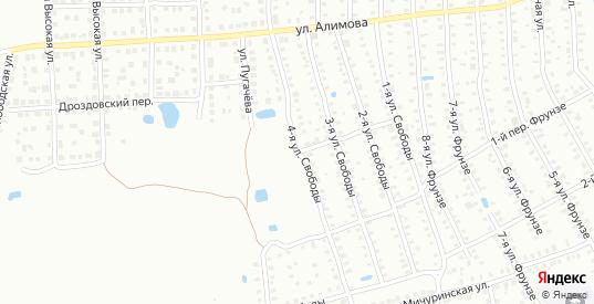 Свободы 3-й переулок в Шуе с номерами домов на карте. Спутник и схема онлайн