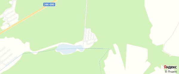 Территория СНТ Здоровье на карте Ивановского района Ивановской области с номерами домов