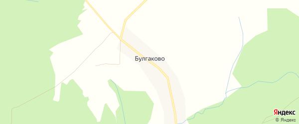 Карта деревни Булгаково в Рязанской области с улицами и номерами домов