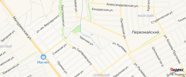 Карта Первомайского поселка в Тамбовской области с улицами и номерами домов