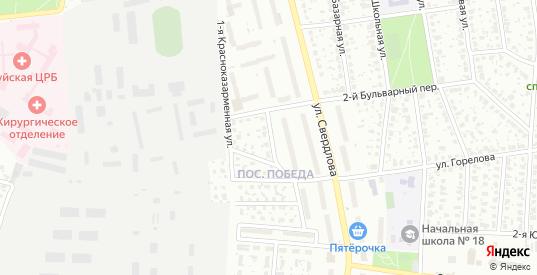 Красноказарменная 2-я улица в Шуе с номерами домов на карте. Спутник и схема онлайн