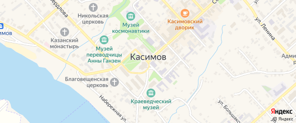 Муромская улица на карте Касимова с номерами домов