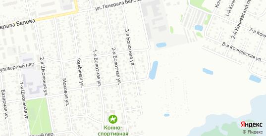Болотная 3-я улица в Шуе с номерами домов на карте. Спутник и схема онлайн