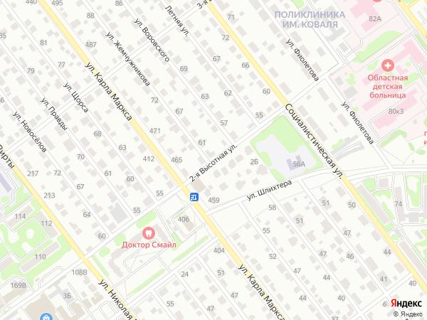 карта тамбова с улицами и фото домов