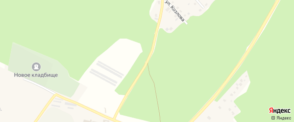 Улица Лесок на карте Касимова с номерами домов