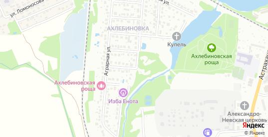 Кузьминская улица в Котовске с номерами домов на карте. Спутник и схема онлайн