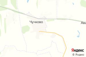 Карта пгт Чучково Рязанская область