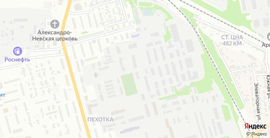 Школьная улица в Котовске с номерами домов на карте. Спутник и схема онлайн