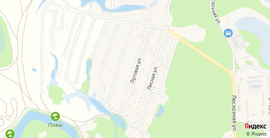 Луговая улица в Котовске с номерами домов на карте. Спутник и схема онлайн