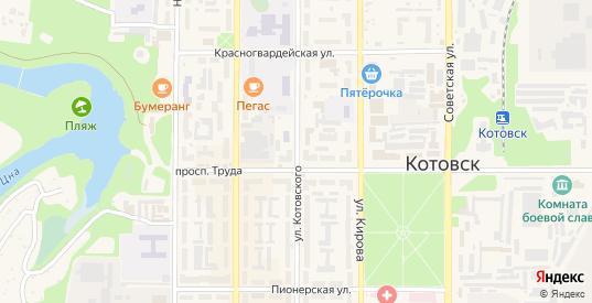 Улица Котовского в Котовске с номерами домов на карте. Спутник и схема онлайн