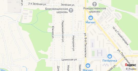 Улица Мичурина в Котовске с номерами домов на карте. Спутник и схема онлайн