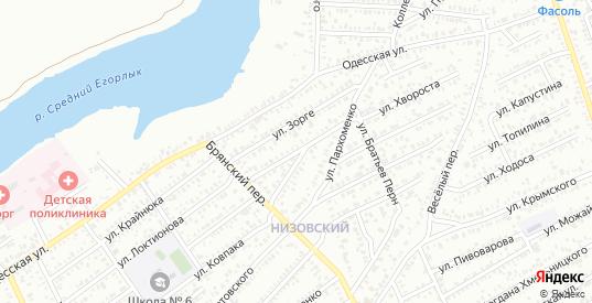 Улица Декабристов в Сальске с номерами домов на карте. Спутник и схема онлайн