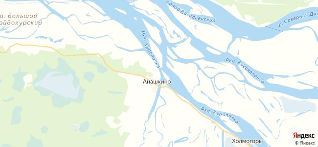 Смольниковская на карте