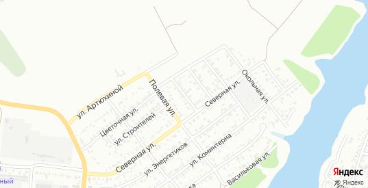Российская улица в Сальске с номерами домов на карте. Спутник и схема онлайн