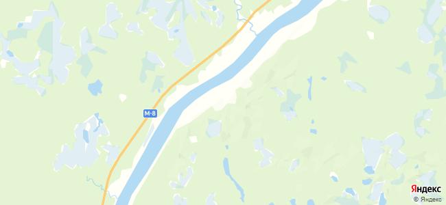 Подборье на карте