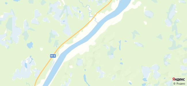 Речка на карте