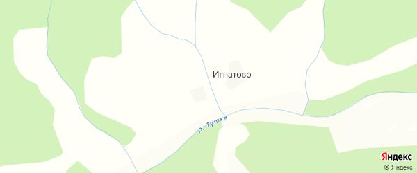 Карта деревни Тыково в Костромской области с улицами и номерами домов