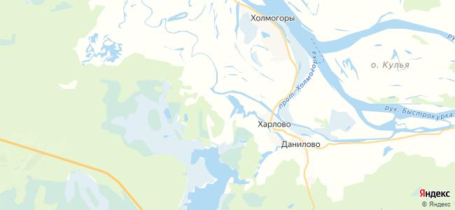 Белая Гора на карте
