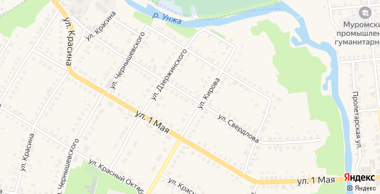 Улица Свердлова в Меленках с номерами домов на карте. Спутник и схема онлайн