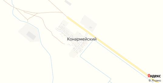 Улица Точка Коммунар в поселке Конармейский в Пролетарске с номерами домов на карте. Спутник и схема онлайн