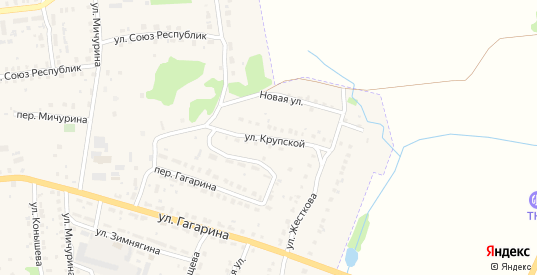 Улица Крупской в Меленках с номерами домов на карте. Спутник и схема онлайн