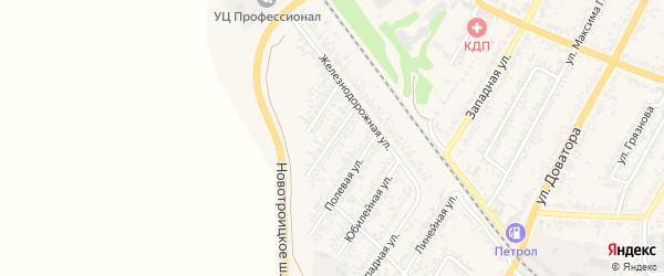 Улица Кутузова на карте Изобильного с номерами домов