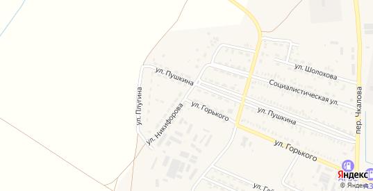 Улица Никифорова в Пролетарске с номерами домов на карте. Спутник и схема онлайн