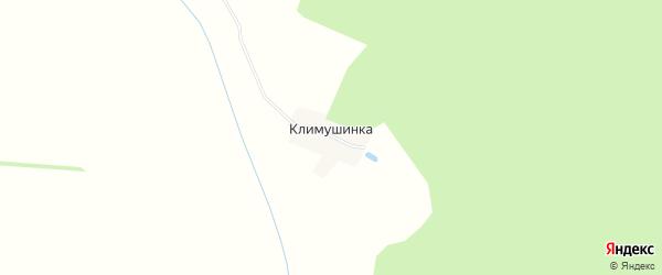 Карта деревни Климушинки в Рязанской области с улицами и номерами домов