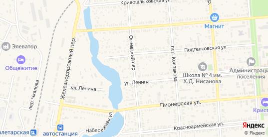 Огневский переулок в Пролетарске с номерами домов на карте. Спутник и схема онлайн