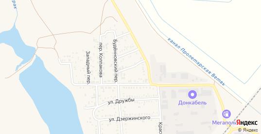 Луговая улица в Пролетарске с номерами домов на карте. Спутник и схема онлайн