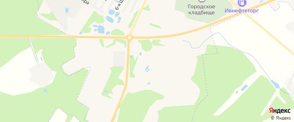 СНТ Коллективный сад-41 на карте Родниковского района Ивановской области с номерами домов