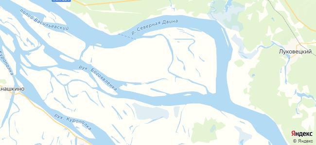 Большая Вашкаранда на карте