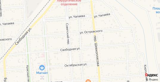 Малый переулок в Пролетарске с номерами домов на карте. Спутник и схема онлайн