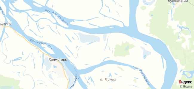 Большое Залесье на карте