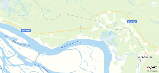 Сетигоры на карте