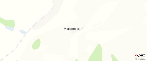 Карта Макаровского хутора в Волгоградской области с улицами и номерами домов