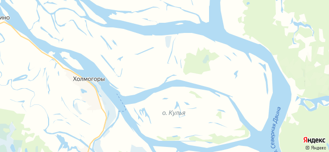 Подгорье на карте