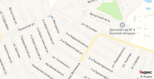 Перекопская 3-я улица в Родники с номерами домов на карте. Спутник и схема онлайн