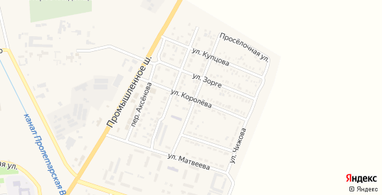 Улица Королева в Пролетарске с номерами домов на карте. Спутник и схема онлайн