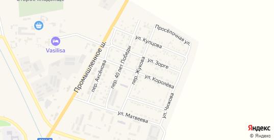 Переулок Жукова в Пролетарске с номерами домов на карте. Спутник и схема онлайн
