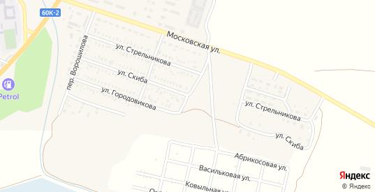 Улица Скиба в Пролетарске с номерами домов на карте. Спутник и схема онлайн