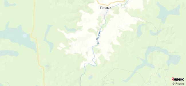 Притыкинская на карте