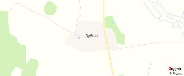 Карта деревни Зубихи в Ивановской области с улицами и номерами домов