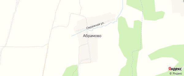 Карта деревни Абрамово в Владимирской области с улицами и номерами домов
