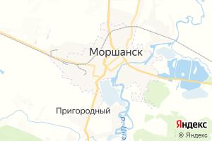 Карта г. Моршанск Тамбовская область